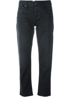 Current/Elliott cropped pants - Black