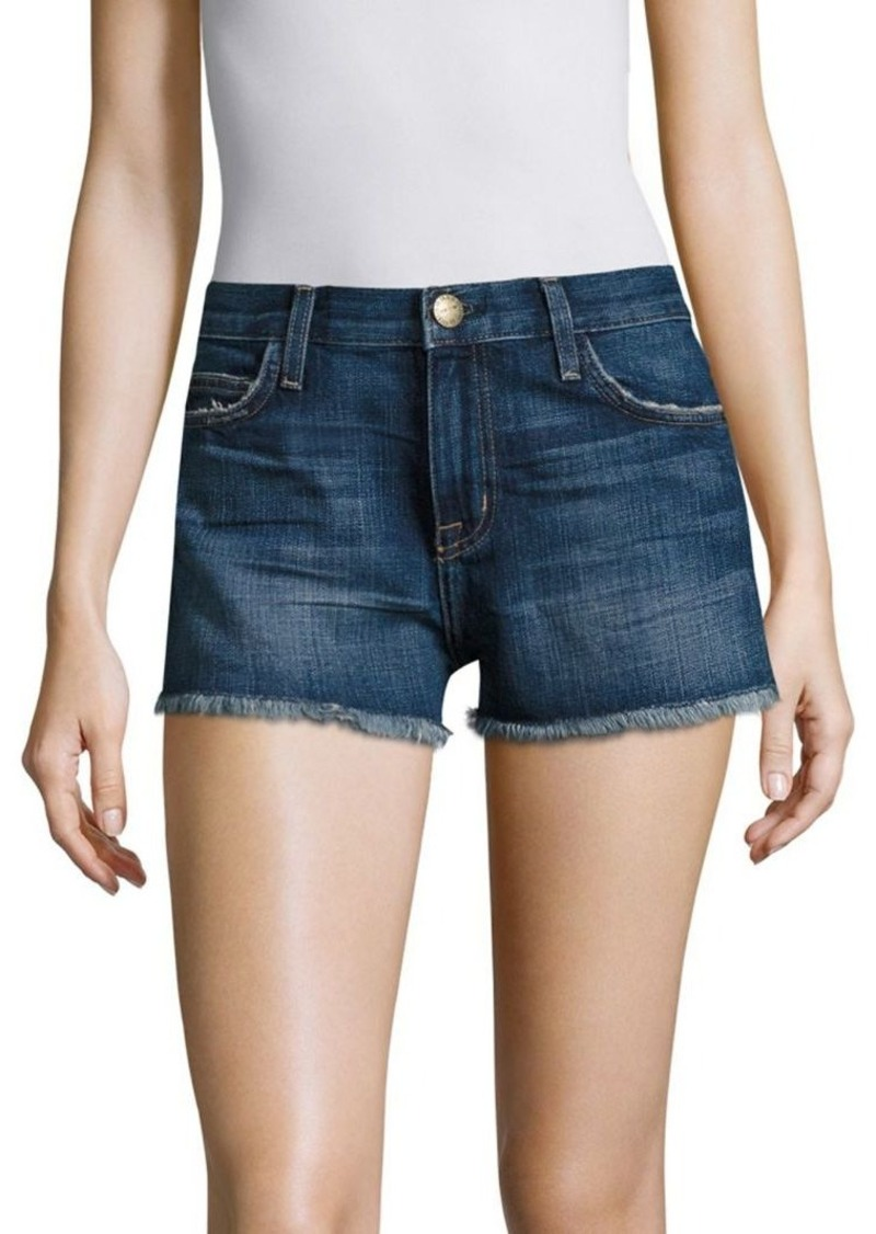 Current/Elliott Cut-Off Denim Shorts