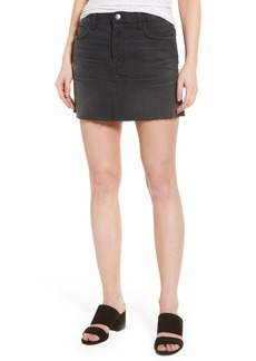 Current/Elliott Cut Off Miniskirt