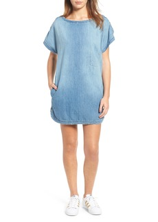 Current/Elliott Denim T-Shirt Dress