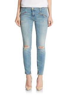 Current/Elliott Distressed Silverlake Jeans