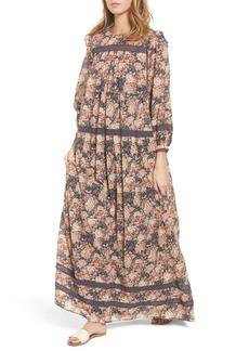 Current/Elliott Florence Lace Maxi Dress