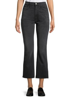 Current/Elliott High Rise Crop Jeans