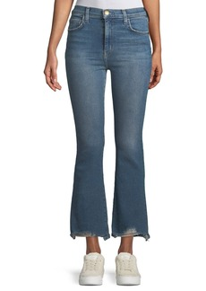 Current/Elliott High-Waist Kick Flare Jeans