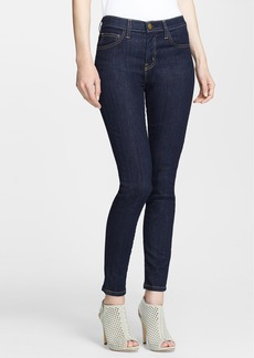 Current/Elliott High Waist Skinny Ankle Jeans (Rinse)