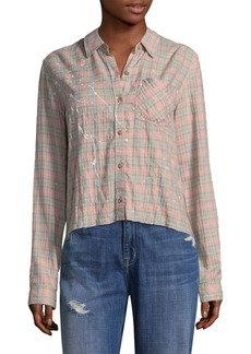 Current/Elliott Ivy Sunshine Plaid Shirt