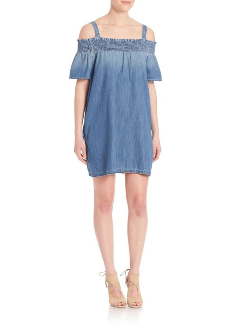 Current/Elliott Madeline Off-The-Shoulder Dress