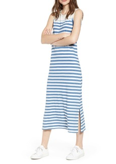 Current/Elliott Perfect Muscle Tee Stripe Dress