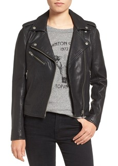 Current/Elliott Roadside Leather Moto Jacket