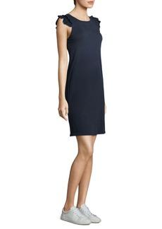 Current/Elliott Ruffle Muscle Cotton Dress