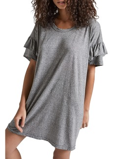Current/Elliott Ruffle Roadie T-Shirt Dress