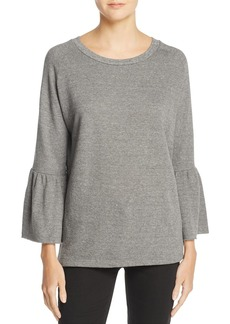 Current/Elliott Ruffle Sleeve Sweatshirt � 100% Exclusive
