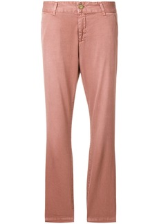 Current/Elliott slim fit trousers - Pink & Purple