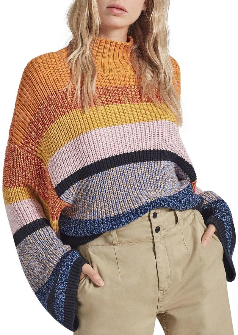 Current/Elliott Soleil Striped Sweater
