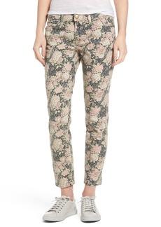 Current/Elliott Stiletto Floral Print Skinny Jeans (Phoenix Floral)