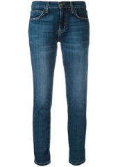 Current/Elliott straight cropped jeans
