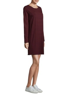 Current/Elliott Striped Shift Cotton Dress