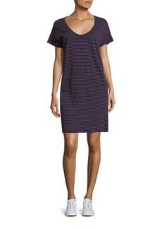Current/Elliott Striped T-Shirt Dress