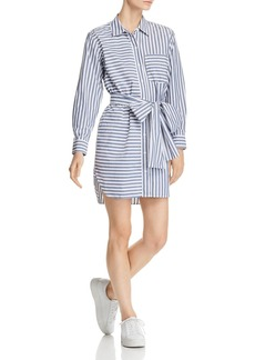Current/Elliott The Alda Striped Shirt Dress