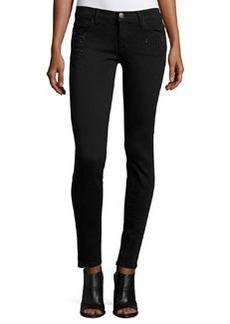 Current/Elliott The Ankle Skinny Jeans w/Rhinestones