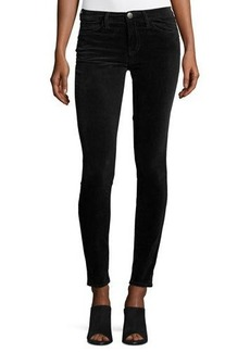 Current/Elliott The Ankle Skinny Velvet Pants