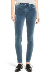Current/Elliott The Ankle Velveteen Skinny Pants