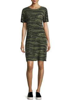 Current/Elliott The Beatnik Camo T-Shirt Dress