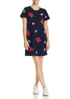 Current/Elliott The Beatnik Star Print T-Shirt Dress