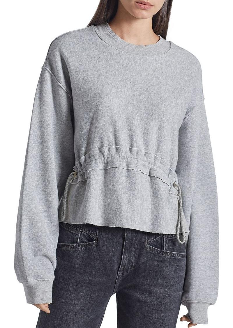 Current/Elliott The Bloom Drawstring Sweatshirt