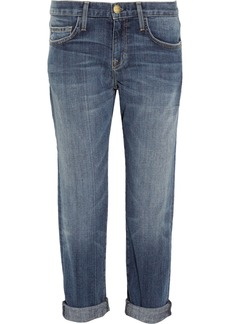Current/Elliott The Boyfriend cropped mid-rise jeans