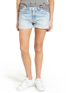 Current/Elliott The Boyfriend Denim Shorts (Alta Destroyed)