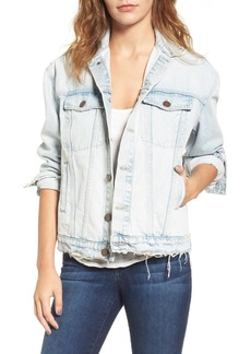 Current/Elliott The Boyfriend Denim Trucker Jacket