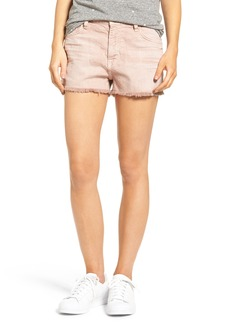 Current/Elliott The Boyfriend High Waist Denim Shorts (Rose Dust)