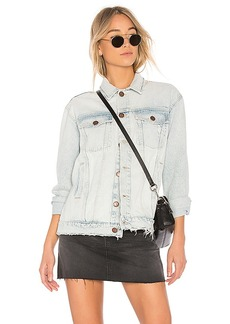Current/Elliott The Boyfriend Trucker Jacket. - size 0 / XS (also in 1 / S,2 / M,3 / L)