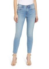 Current/Elliott The Braided Stiletto High Waist Skinny Jeans (Poolside)
