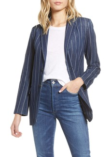 Current/Elliott The Calla Pinstripe Blazer