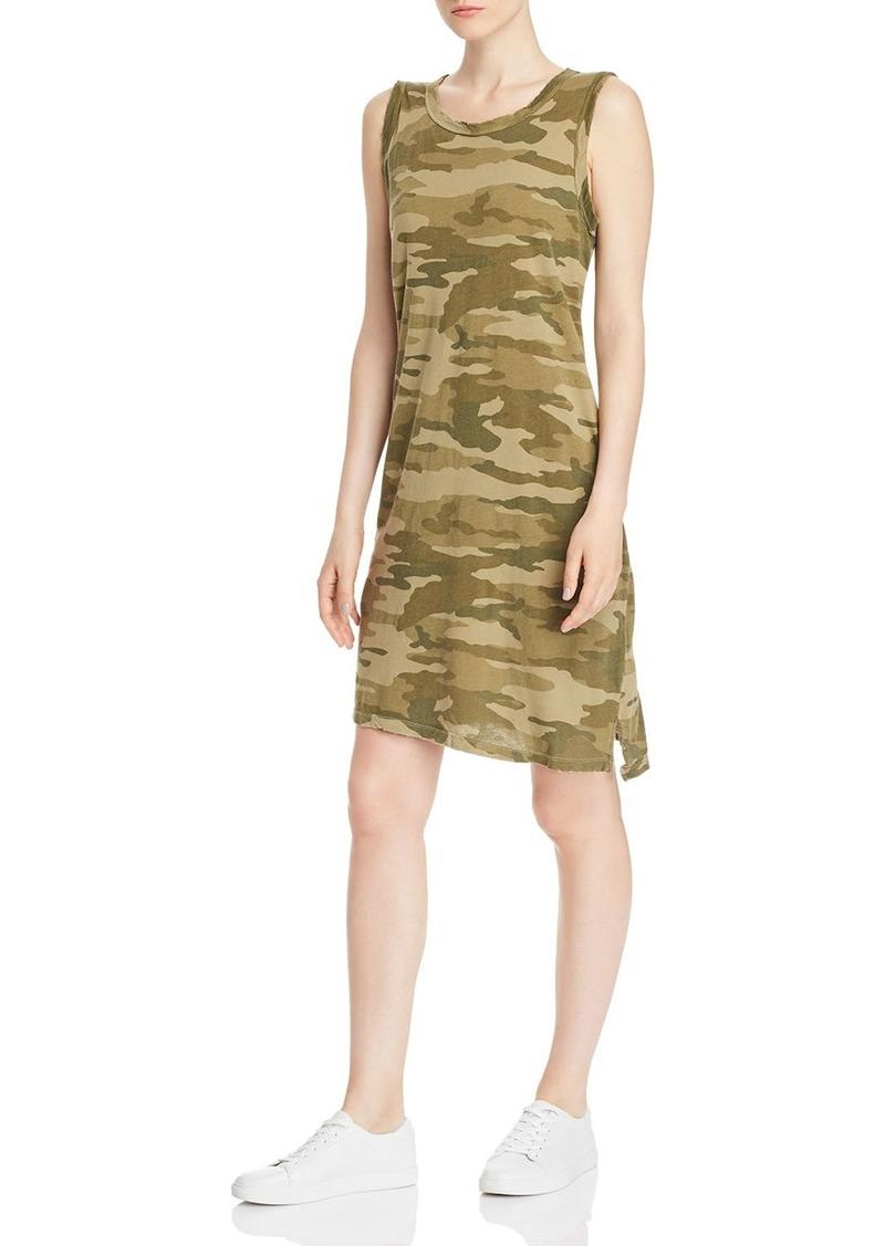 Current/Elliott The Camo Muscle Tank Dress