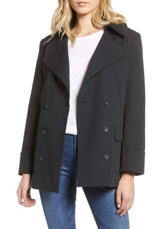 Current/Elliott The Captain Cotton & Wool Peacoat