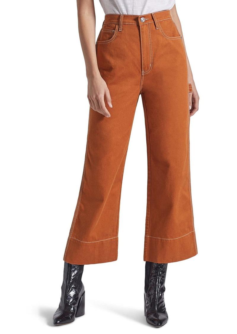 Current/Elliott The Carpenter High Waist Crop Pants