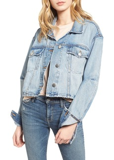 Current/Elliott The Collin Crop Denim Jacket