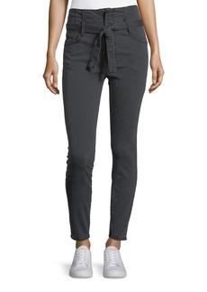 Current/Elliott The Corset Stiletto Skinny-Leg Pants