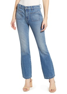 Current/Elliott The Cropped Bootcut Jeans (Fairwater)