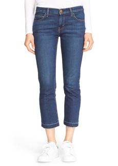 Current/Elliott 'The Cropped Straight' Ankle Jeans