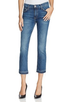 Current/Elliott The Cropped Straight Jeans in Vertigo