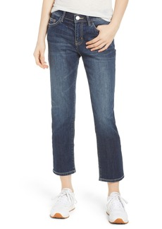 Current/Elliott The Cropped Straight Leg Jeans (Belloc)