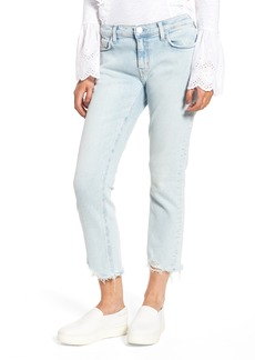Current/Elliott The Cropped Straight Leg Jeans (Cascade)