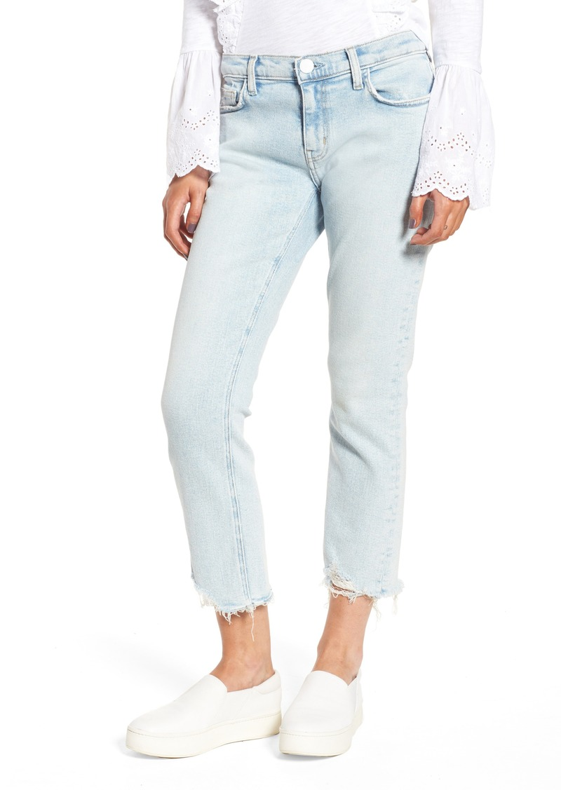 91095cf61f2025 Current/Elliott Current/Elliott The Cropped Straight Leg Jeans ...