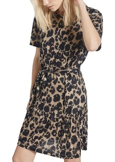 Current/Elliott The Crystal Printed Belted Dress
