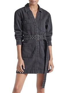 Current/Elliott The Debbie Studded Shirt Dress