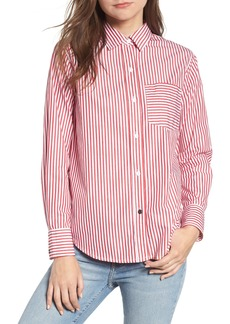 Current/Elliott The Derby Stripe Shirt